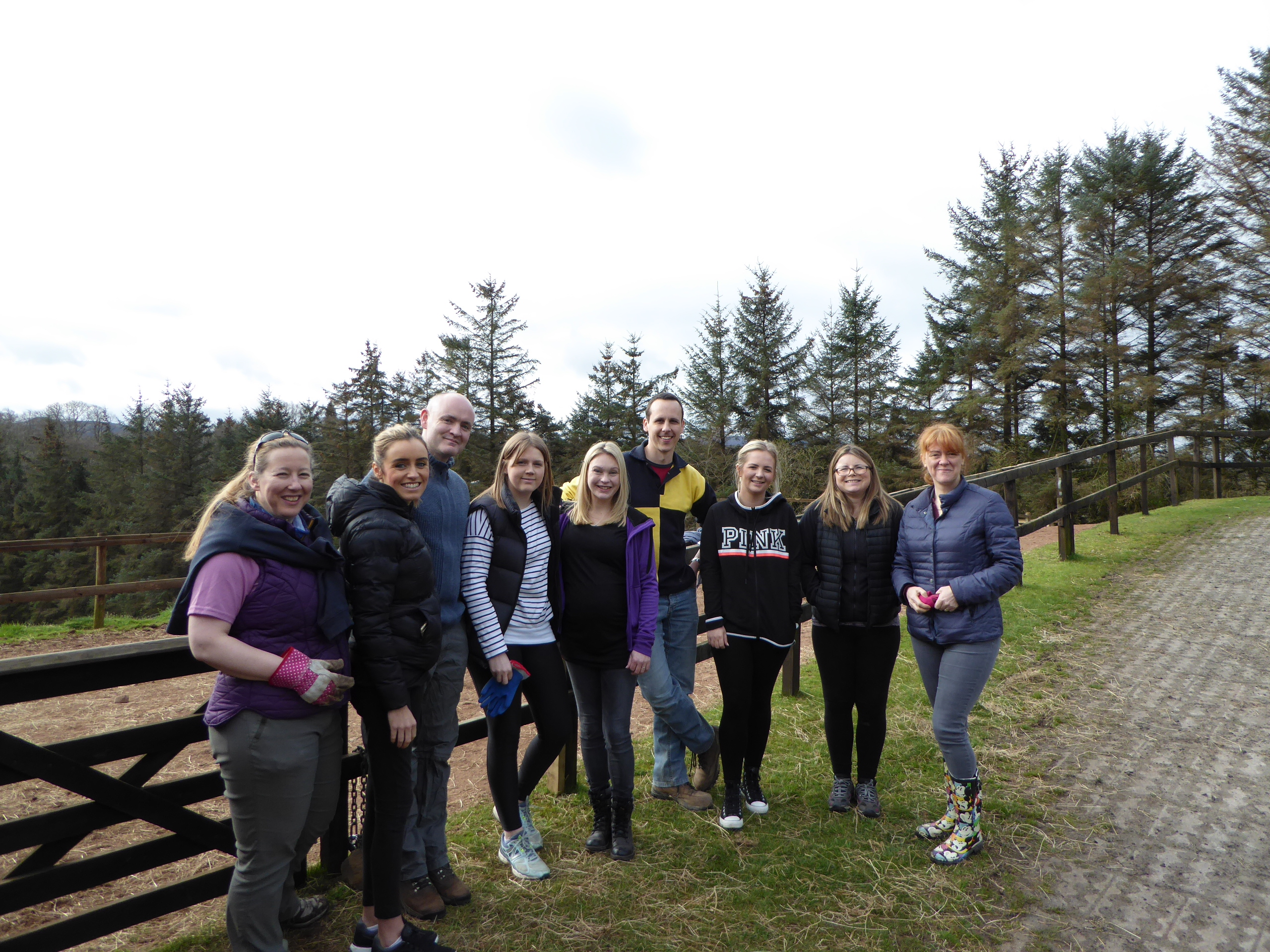 Volunteers at Ravelrig